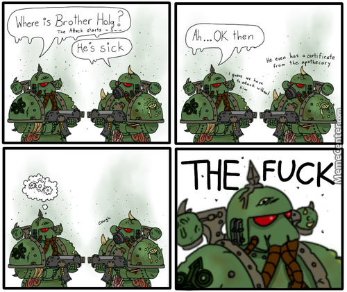 Short Comic For The Wh40K Fans