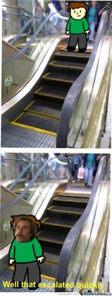 Short Escalator