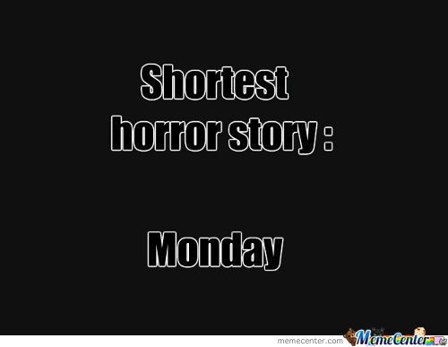 Shortest Horror Story...