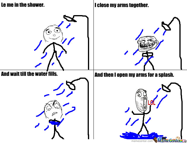 Shower Fun!