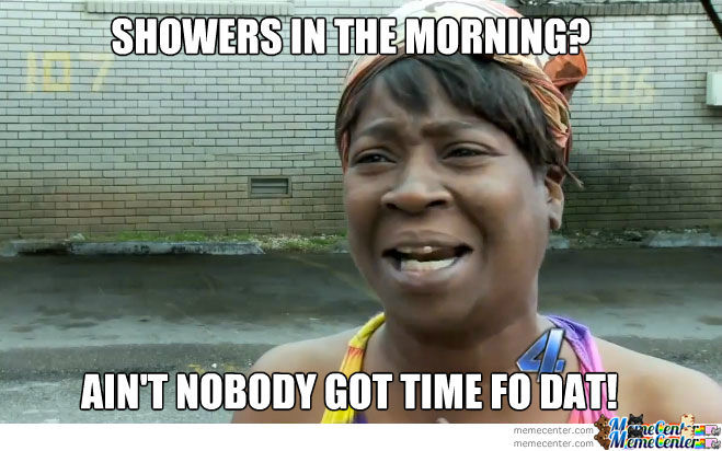 Showers In The Morning