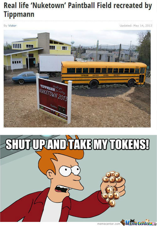 Shut Up And Take My Tokens!