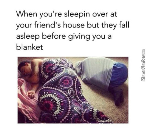 * Silently Takes The Blanket *