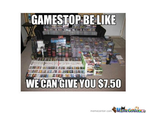 Silly Gamestop