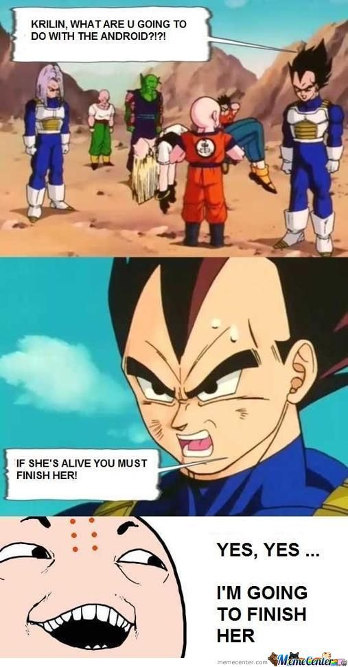 Silly Lonely Krillin