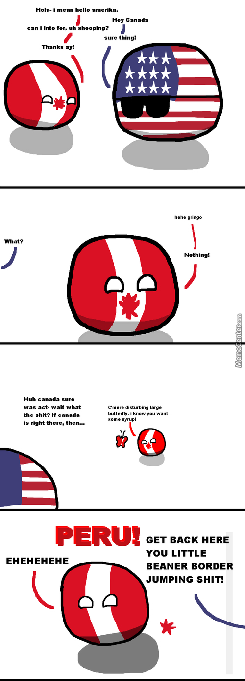 Silly Peru, You Can't Be Canada!
