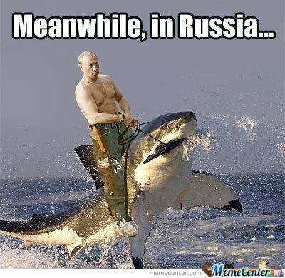 Silly Russians...