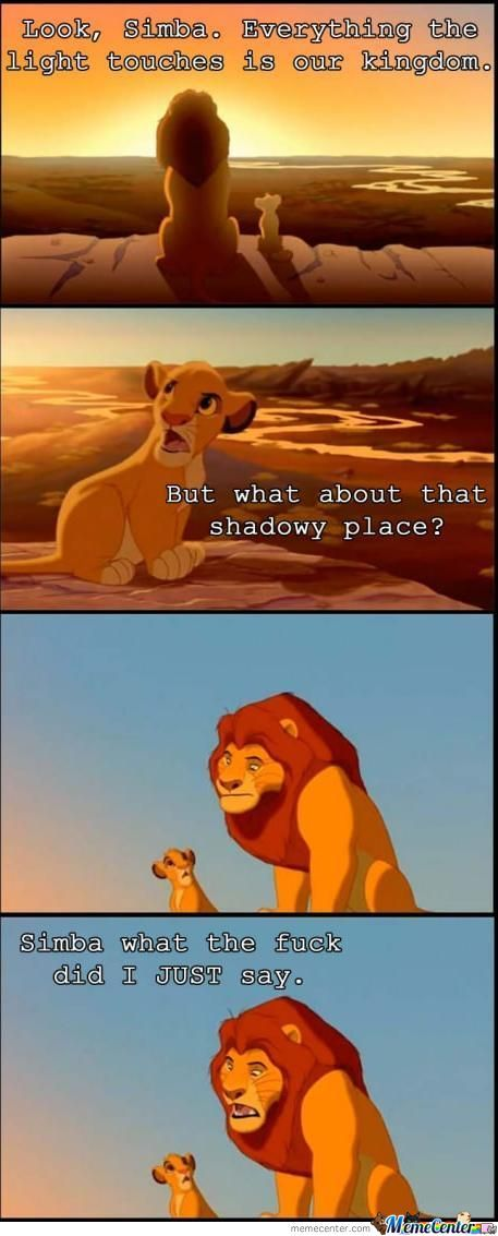 Simba Fuck I Just Say Boy!