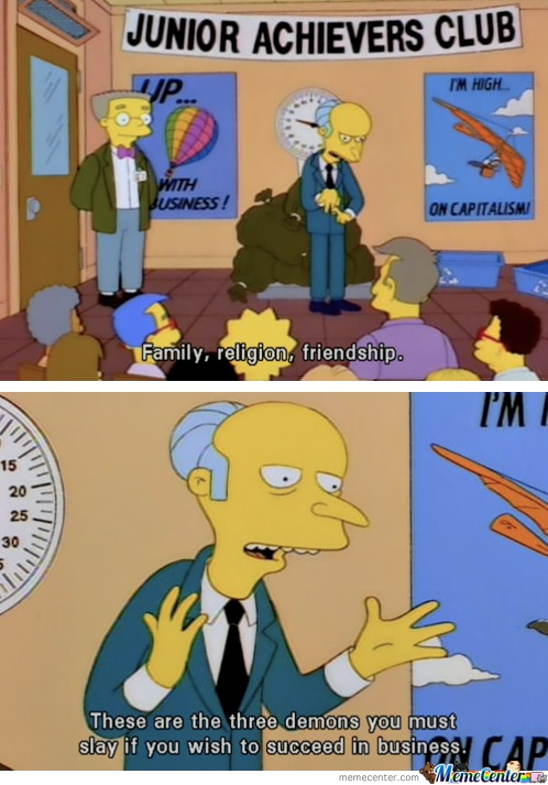 Simpsons Business Advice