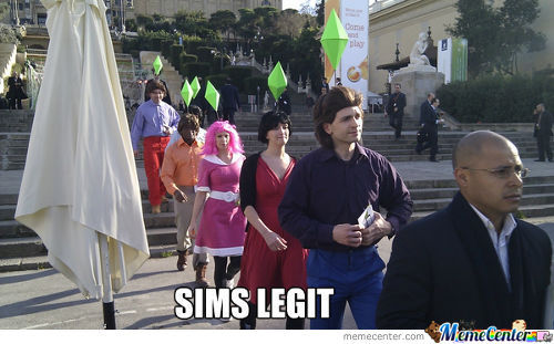 Sims In Real Life