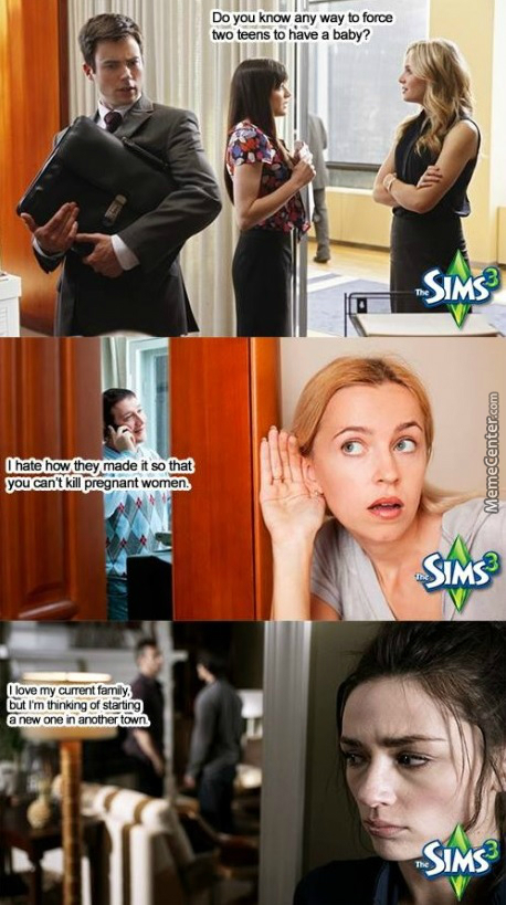 Sims Is Some Weird Sh*t...