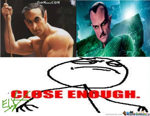 Sinestro Close Enough