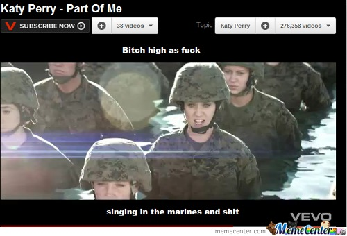 Singing In The Marines...