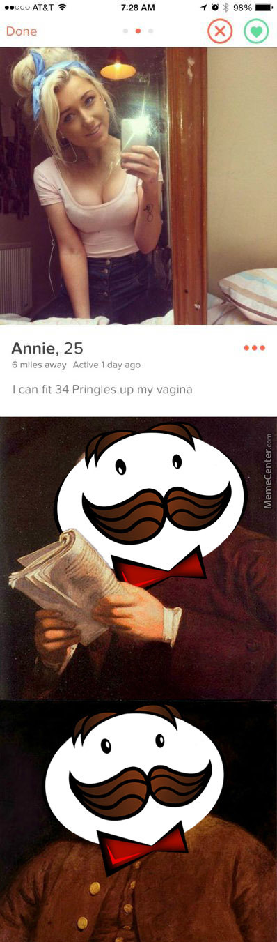 Single, Ready For (Thirty Four) Pringle.