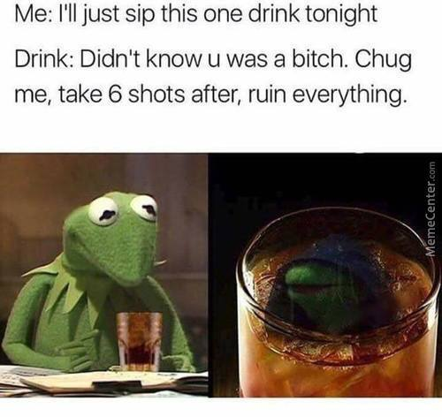 Sip This One Drink