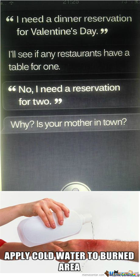 Siri Burned