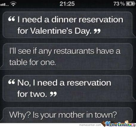 if you're spending valentine day alone meme - Siri Memes Best Collection of Funny Siri