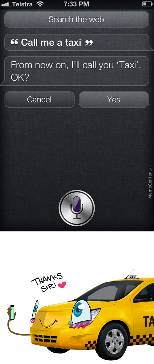 Siri Knows Me To Well