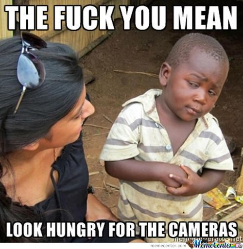 Skeptical Third World Kid Questions What They Are Doing