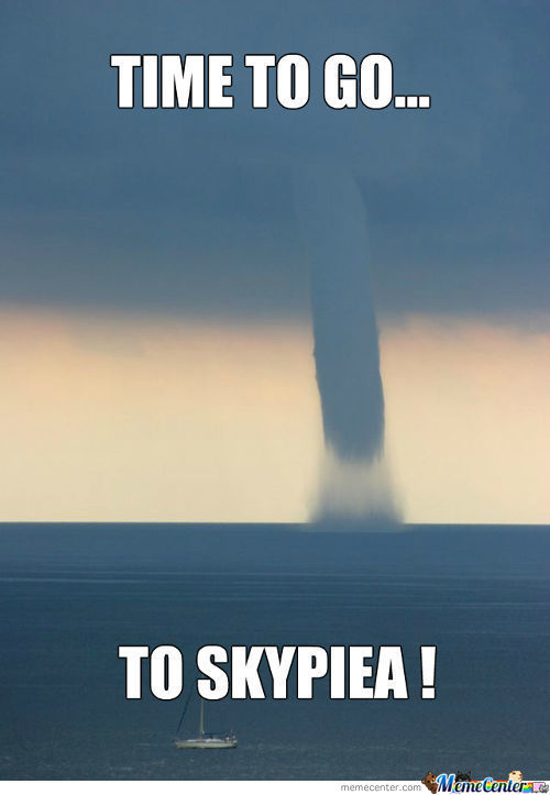 Skypiea Must Be Real !