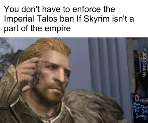 Skyrim Belongs To Ulfric Stormcloak