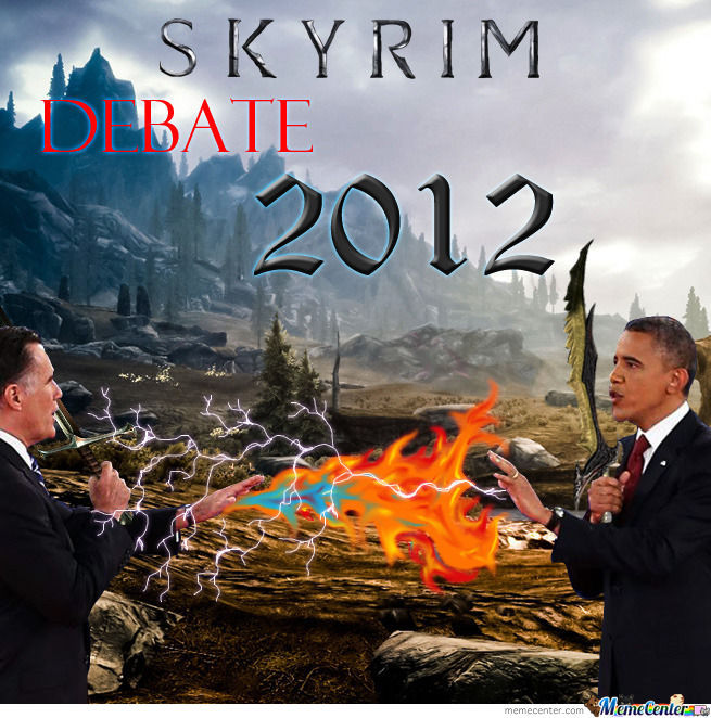 Skyrim Debate 2012... How It Should Be