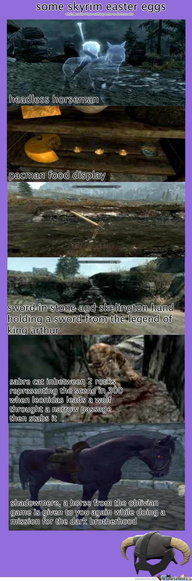 Skyrim Easter Eggs
