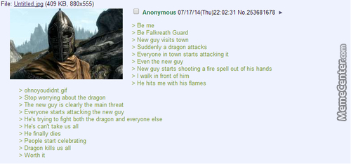 Skyrim Logic Is Best Logic