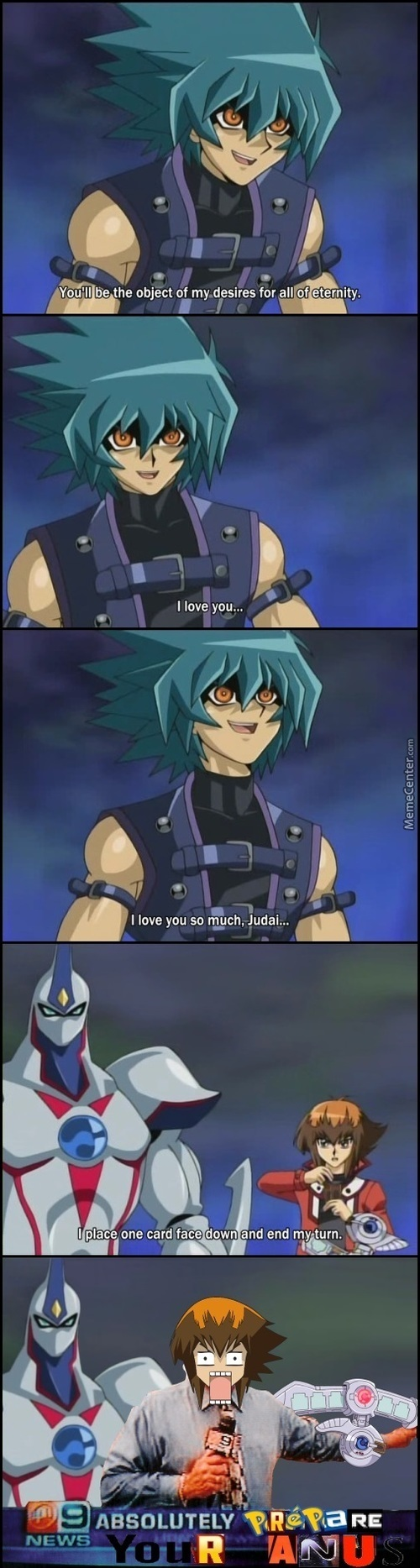 Slam Me On The Table... - Duel Gone Smexual - Yugioh