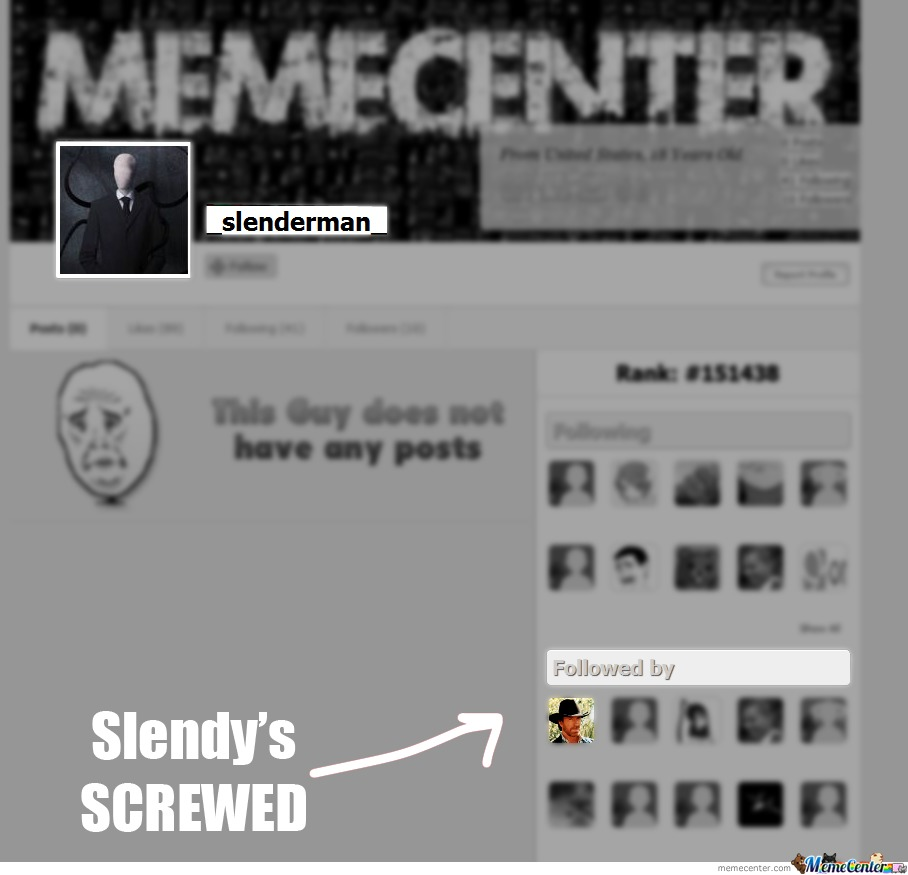 Slenderman Better Run!