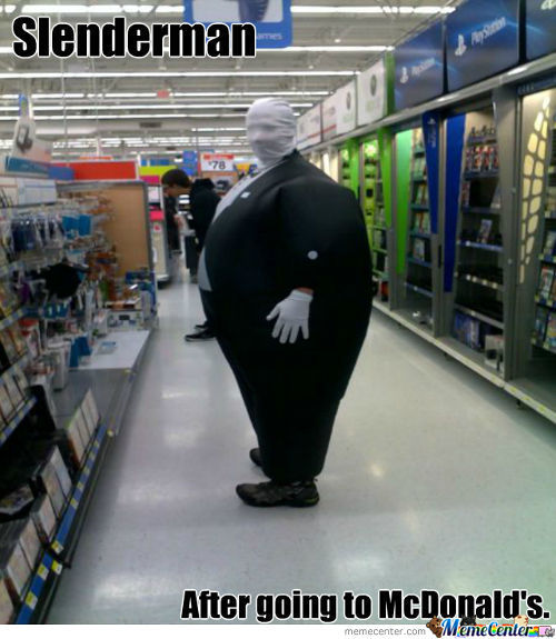 Slenderman Was Hungry