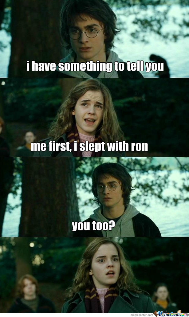 Slept With Ron