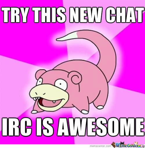 Slowpoke Irc