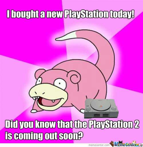 Slowpoke: Playstation