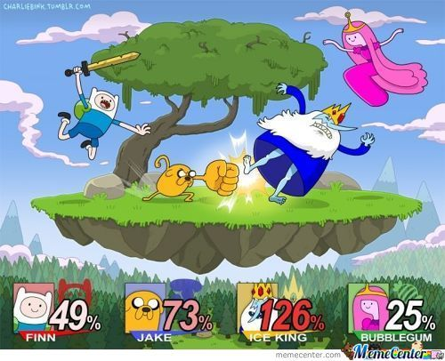 Smash Bros- Adventure Time Edition!