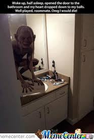 Smeagol Is Going To Kill You In Your Bathroom