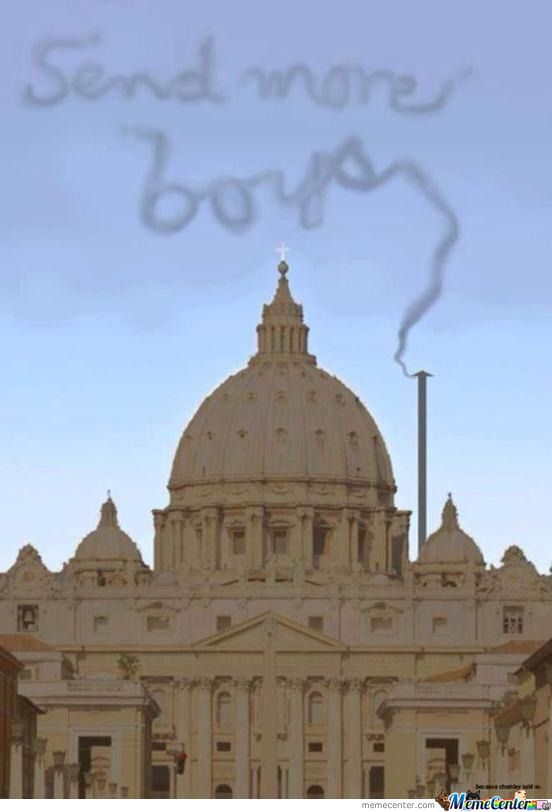 Smoke On Vatican