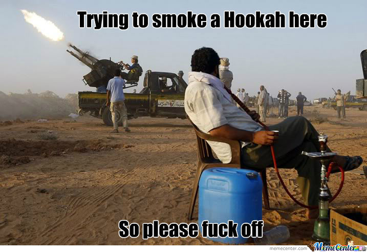 Smoking Hookah Like A Boss