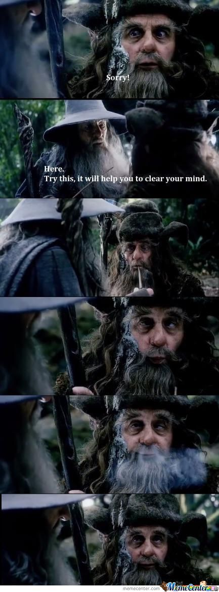 Smoking Weed: Level Middle Earth