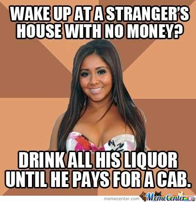 Snooki Always Has A Plan