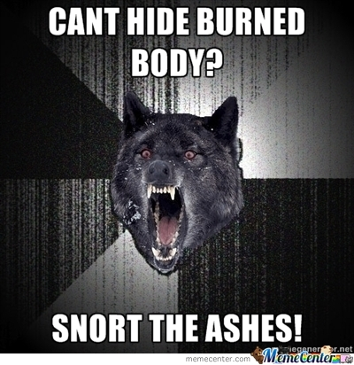 Snort The Ashes!
