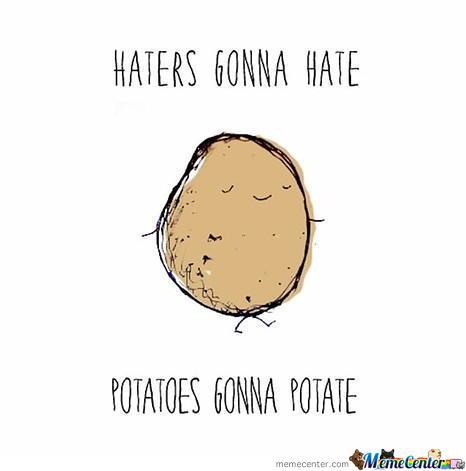 So Don't Be Hating Their Potatin'