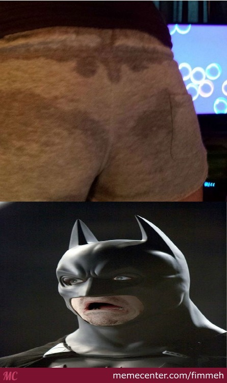 So Hard Off An Exercise That Your Ass Need Batman's Help