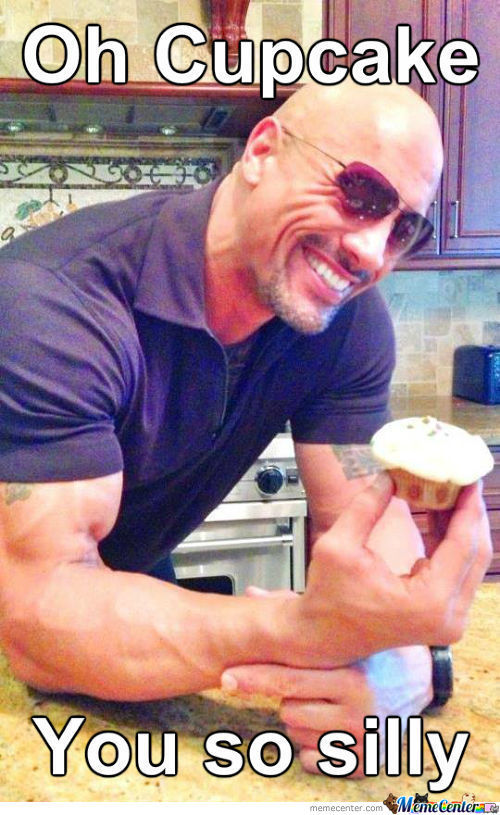 So I Found Out What The Rock Was Cooking...