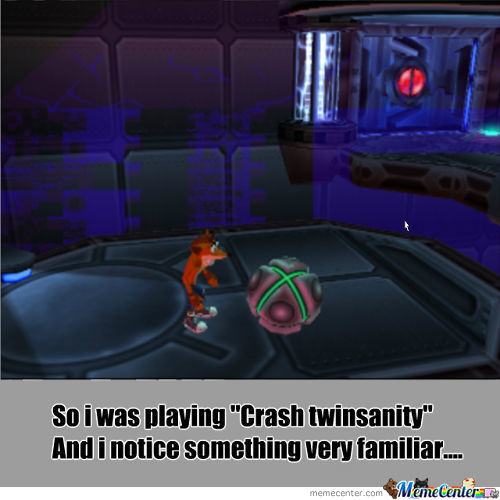 "So I Was Playing ""crash Twinsanity""....."