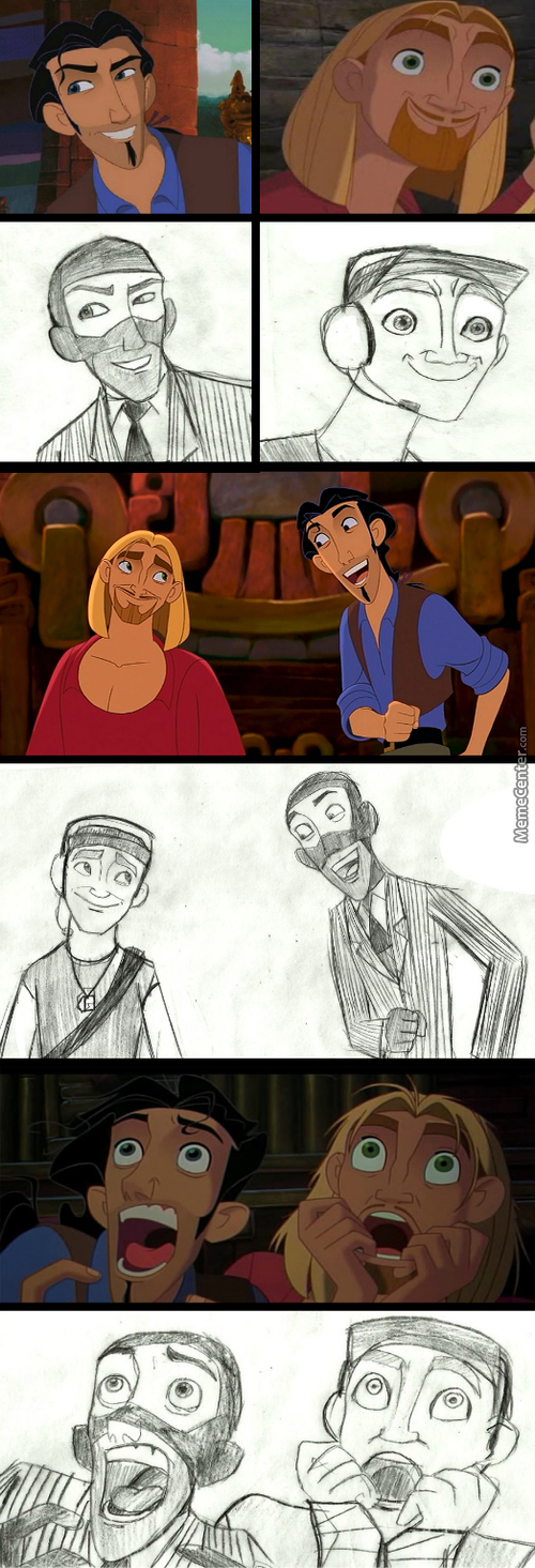 So, I Was Watching 'Road To El Dorado Again Today, And Something Came Up In My Mind