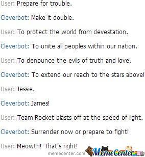 So I Went To Talk To Cleverbot And This Happened