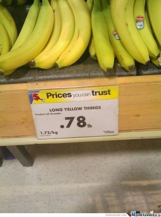 So Much For A Banana