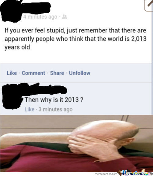So Much Stupidity!