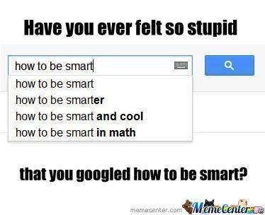 So Stupid That...
